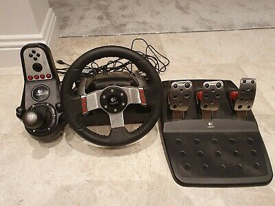Logitech G27 Steering Wheel, Pedals & Gearstick for PS3 & PC