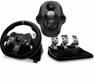 Logitech G29 Racing Wheel, Gearstick & Pedals.