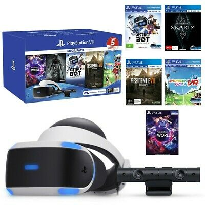 The  PlayStation VR Mega Pack's FIVE games include!!!