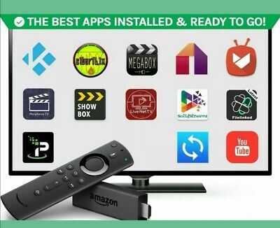 Amazon Fire TV Stick (2nd Generation) With All EXTRA Things