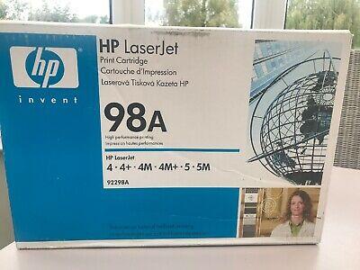 Genuine HP A (98A) Black Standard Capacity Toner