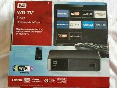 Western Digital WD TV Live Digital HD Media Streamer