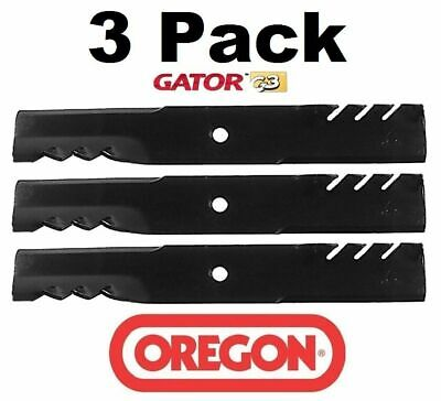 3 Pack Oregon  Gator Mulcher Blade for Scag