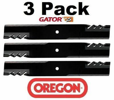 3 Pack Oregon  Mower Blade Gator G5 fits
