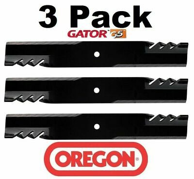 3 Pack Oregon  Mower Blade Gator G5 fits Bush Hog