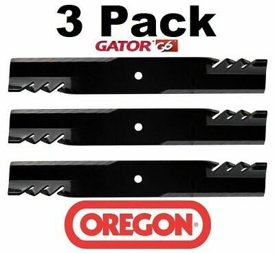 3 Pack Oregon  Mower Blade Gator G6 fits