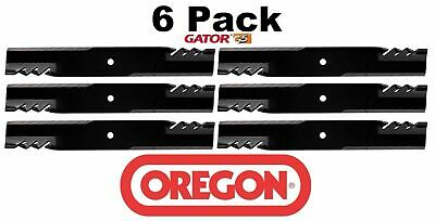 6 Pack Oregon  G5 Gator Mulcher Blade for Ferris