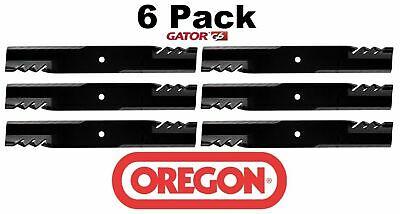 6 Pack Oregon  G6 Gator Mulcher Blade for Bobcat