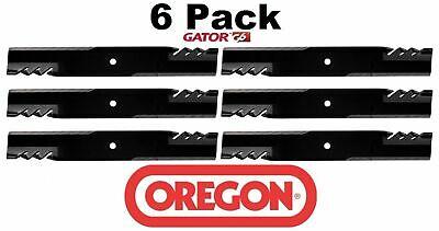 6 Pack Oregon  G6 Gator Mulcher Blade for Bunton