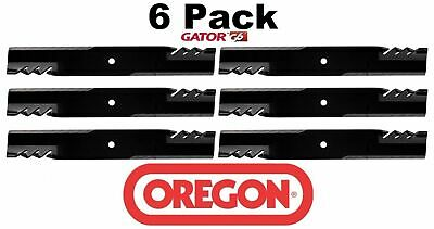 6 Pack Oregon  G6 Gator Mulcher Blade for Exmark