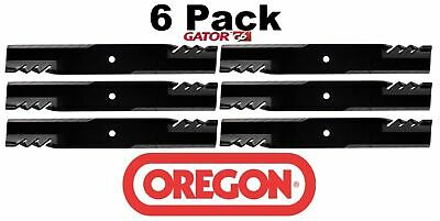 6 Pack Oregon  G6 Gator Mulcher Blade for Scag