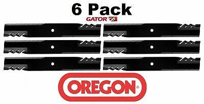 6 Pack Oregon  G6 Gator Mulcher Mower Blade for Scag