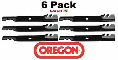6 Pack Oregon  Gator Mulcher Blade Fits AYP Husqvarna