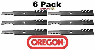 6 Pack Oregon  Gator Mulcher Blade Fits Husqvarna
