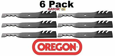 6 Pack Oregon  Gator Mulcher Blade for Bunton PL