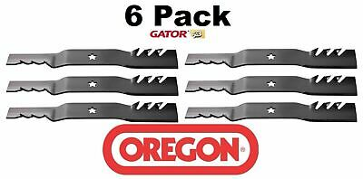 6 Pack Oregon  Gator Mulcher Blade for Husqvarna