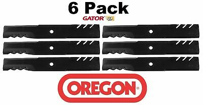 6 Pack Oregon  Gator Mulcher Blade for Simplicity