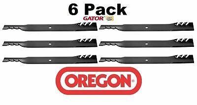 6 Pack Oregon  Gator Mulcher Mower Blade for Scag