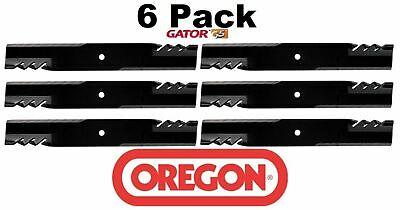 6 Pack Oregon  Mower Blade Gator G5 fits Bush Hog