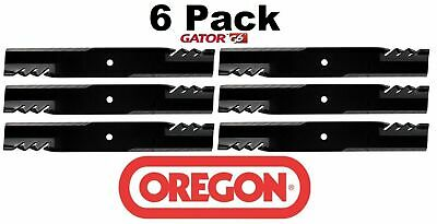 6 Pack Oregon  Mower Blade Gator G6 fits