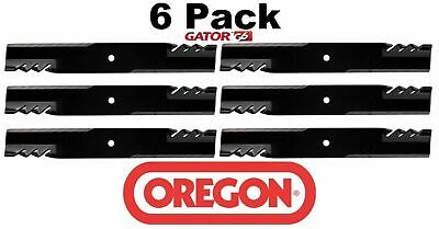 6 Pack Oregon  Mower Blade Gator G6 fits Bush Hog