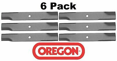 6 Pack Oregon  Mower Blade for John Deere M""