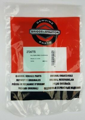 Briggs & Stratton Pre-Cleaner Filter Genuine Part S