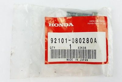Honda Bolt Genuine Part A NOS OEM A
