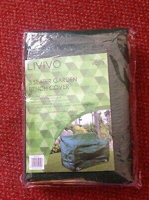 Livivo 3 Seater Garden Bench Cover 162cm x 89cm x 66cm