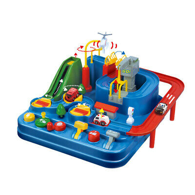 1X(Manual Car Adventure Track Toys for Children Educational