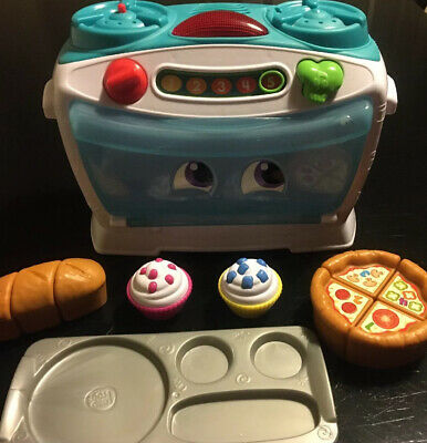 Baby LeapFrog Number Loving Toy Microwave Sounds Oven Cooker