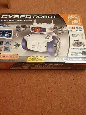 Clementoni Science Museum Cyber Robot, Kids Programmable