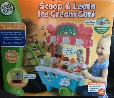 LeapFrog Scoop & Learn Ice Cream Cart BRAND NEW IN BOX