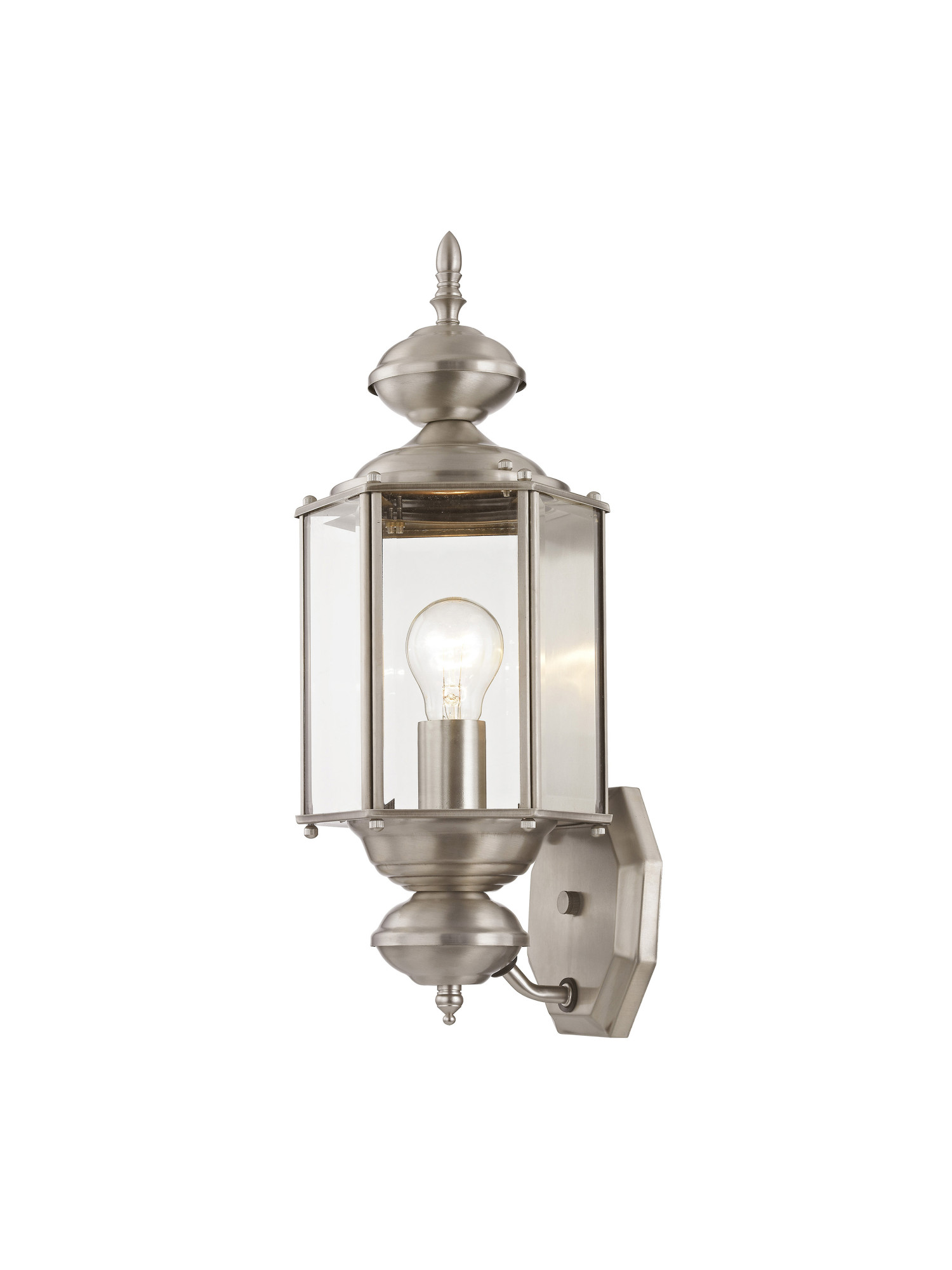 "Livex Lighting  Outdoor Basics 1 Light 17""H Outdoor Wall"