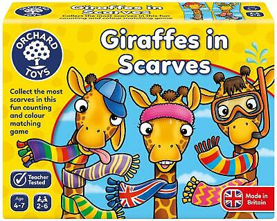 Orchard Toys GIRAFFES IN SCARVES Kids Educational Puzzle BN