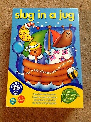 """Orchard Toys """"Slug in a Jug"""" educational game - ages 5-10"""