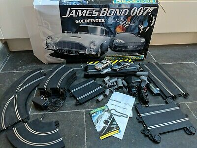 SCALEXTRIC James Bond 007 Goldfinger & Casino Royale Boxed