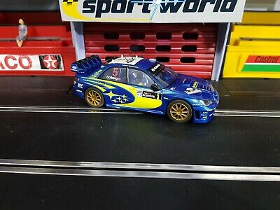 Scalextric 1:32 Car - C Subaru Impreza WRC 4WD Solberg