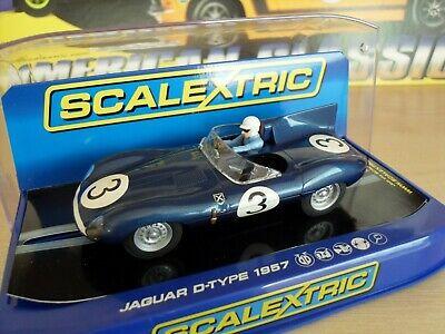 Scalextric C Jaguar D-Type ' Le Mans Winner' - Brand