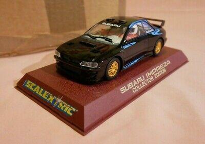 Scalextric C Subaru Impreza Black Collector Edition New