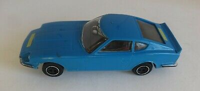 Scalextric C053 Datsun 240Z Blue New Rear Tyres - Very Good