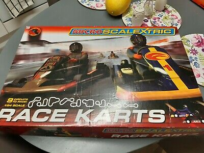 Scalextric Micro G Karts 1:64 Scale Race Set