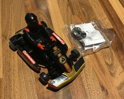 Scalextric: Super Kart No.8 Solo Car / Black (C) No Box