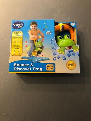 Vtech - Bounce And Discover Frog - Brand New In Box