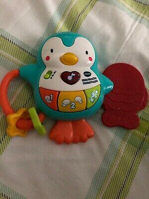 Vtech Little Friendlies Musical Penguin Baby Boy Teether