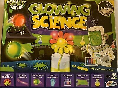 Weird Science Awesome Glowing Laboratory Chemistry