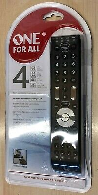 One For All URC Essence 4 Remote Control Universal 4