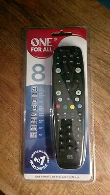 One for All OFA 8 Universal Remote Control URC Sealed