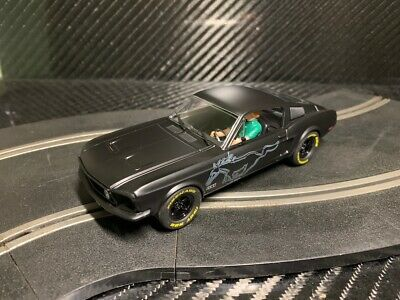 PIONEER SLOT CAR NEW UNBOXED MUSTANG GT STEALTH 'ROUTE 66' -