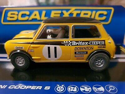 Scalextric C Mini Cooper S Trohpy Race BSCC